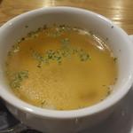 バンカム - 特製手作りハンバーグに付くスープ