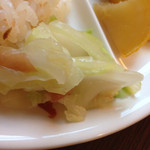 カフェ・ミュージックウェーブ - 白菜の梅干し和え