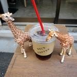 ソルズコーヒー - アイスコーヒーとキリン