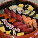 楽市楽座 - お子様寿司。