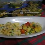 パスタ亭 - 料理写真:自家製帽子型ショートパスタ&空豆のニョッキ