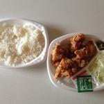 ほっともっと - ほっともっと 新居浜松木店 特塩から揚弁当