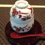 うさぎ庵 - 共通の茶碗蒸し