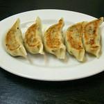麺屋 玄徳 - 餃子