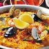 銀座びいどろ - 料理写真:魚貝のパエリア