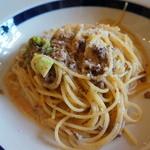 ヴェッロクオーレ - パスタは田舎のボロネーズクリームスパゲティ これこれ、こういう普通に美味しいパスタが食べたかった