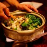 ちよぼ家 - 本ズワイ蟹の炊き込みご飯