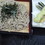 天狗亭 - 料理写真:ワカサギそば