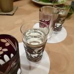 樋口 - 日本酒もたくさん頂きました