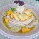 グリルアンドカフェ ジャスミン - トロピカルパンケーキ