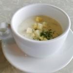 グリルアンドカフェ ジャスミン - 本日のスープ(クラムチャウダー)