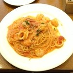 TRATTORIA Alioli - 魚介のトマトソース