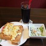 カフェグレンミスト - モーニングBセット550円