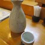 道楽寿し - 日本酒(大)