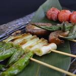 神鶏 - 季節の野菜を焼いてます!