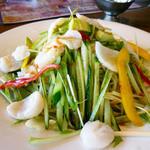 火焔山餃子房 - 海鮮涼麺