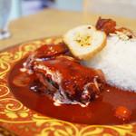 アオキヤ - 料理写真:赤いカレー