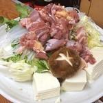 田島屋 - 鶏鍋!1800円!