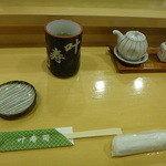 叶寿司 - お茶