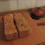 CAFE Uchi - 雑穀トースト 、米粉あんぱん