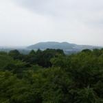 アサヒビール 大山崎山荘 - 喫茶からの景色 天下分け目の天王山