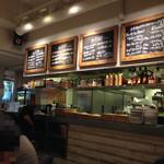 CAFE PARK - 地下なのに、広々開放感あり!おしゃれ空間です。