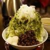 Karandou - 料理写真:特・緑茶氷(620円)