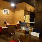 八女茶販売・喫茶 伽藍堂 - 落ち着いた雰囲気の店内