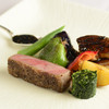 ル・プランタン - 料理写真:当店一番人気!!A5ランクの黒毛和牛ロースとフォアグラのソテー
