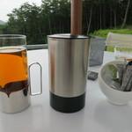 29294540 - 青花茶とAuraブレンド