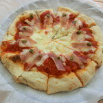 HOME - 生ハム&バジルのピザ