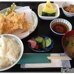 レストランみずまる - 料理写真:Bランチの川エビ天ぷらランチ(820円)