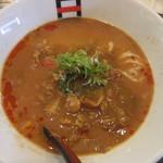 麺処hachi - カレートマトラーメン