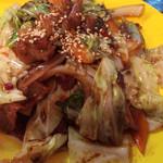 地球屋にんげん亭 - 回鍋肉 ¥400