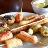 串揚げ まる勝 - 料理写真:おまかせセット 1000円