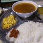 ネパール家庭料理 麦 - スープカリーSet
