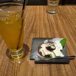 29304572 - ジャスミン茶と、豆乳レアチーズ
