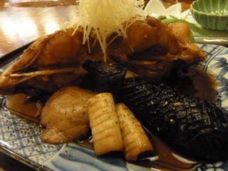 なかむら - 【5000円のコース】マコガレイ煮付