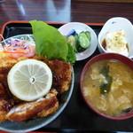 29309991 - ソースカツ丼¥800