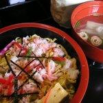 2931641 - ランチのちらし寿司