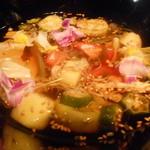 粥茶屋 写楽 - 夏野菜の冷やし鉢