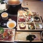 Genjisouhonten - お昼の松花堂弁当1800円