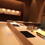 鮨 とかみ - カウンター