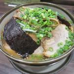 NAGAZUYA - 野菜ラーメン+チャーシュー!(2014,07/25)