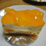 オレンジショートケーキ