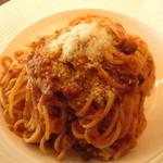 スパニッシュ トゥ イタリアン バルコ - スパゲティ・ボロネーゼ
