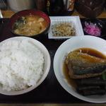 ゆき - 料理写真:サバ甘辛煮定食700円