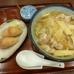 鮨と麺 うまい門 - 和風らーめんセット(800円)