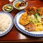 若水 - 料理写真:特別五目入り定食