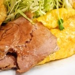 若水 - 特別五目入り定食(焼豚&玉子焼き)